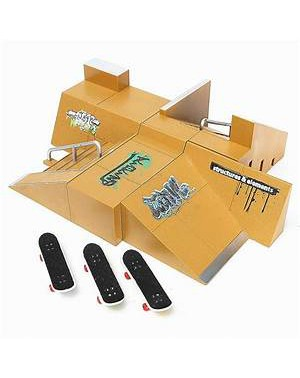 obstacle fingerboarding
